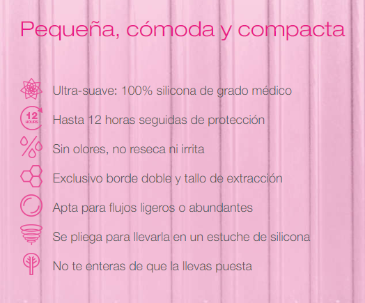 intimina lily cup one copa menstrual